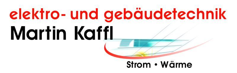 Elektro-und Gebäudetechnik Martin Kaffl